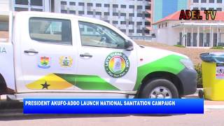 President Akuffo Addo launches Sanitation Campaign