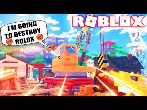 DESTROYING EVERYTHING IN ROBLOX (ROBLOX DEMOLITION CREW)