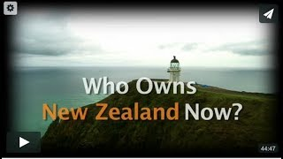 Who Owns New Zealand Now?
