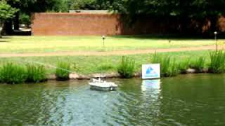 RoboBoat 2011: Competition - Attempt at the Fire Task 6/11