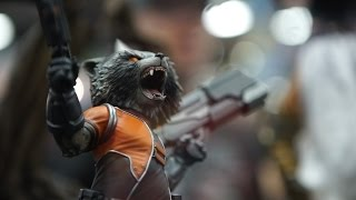These Guardians of the Galaxy Statues are Terrifying - IGN Access by IGN