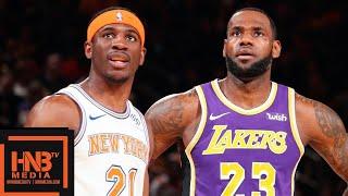 Los Angeles Lakers vs New York Knicks Full Game Highlights | March 17, 2018-19 NBA Season