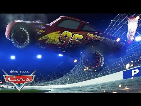 Lightning McQueen's Big Crash | Pixar Cars