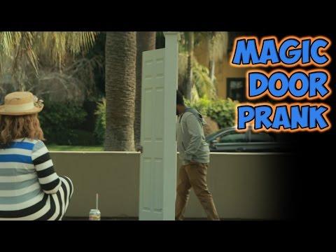 lo scherzo della porta magica - come é possibile?