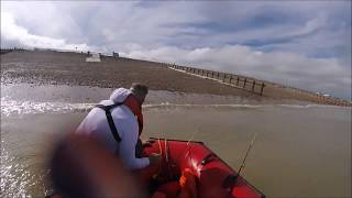 Fishing from Inflatable boat Excel SD 330 + Mercury 9.9 4 strk