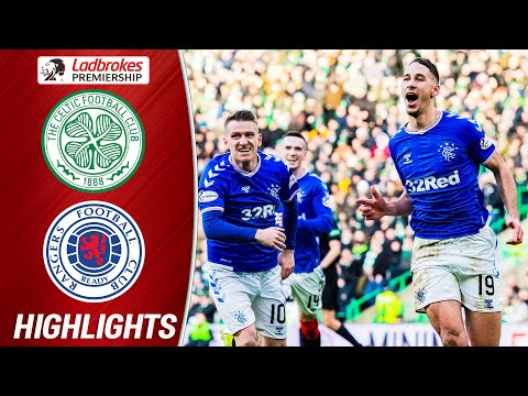 Celtic 1-2 Rangers   Katić Header Gives 'Gers Win in Old Firm Classic   Ladbrokes Premiership