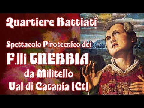 ACI BONACCORSI (Ct) - S. STEFANO 2015 - F.lli TREBBIA da Militello Val di Catania (Ct)