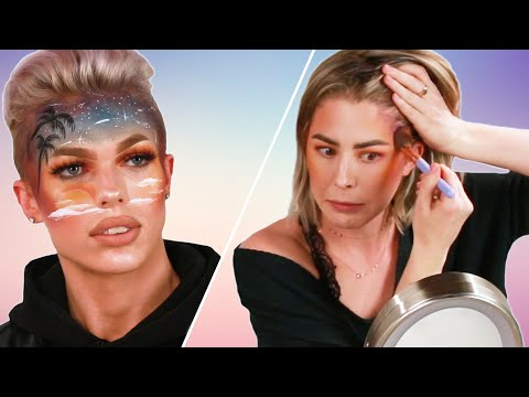 We Try Following An Extreme Makeup Tutorial Ft. Cole Carrigan