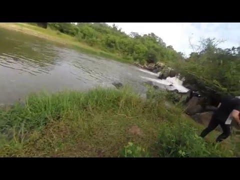 Cachoeira da Santa Rosa em Coromandel