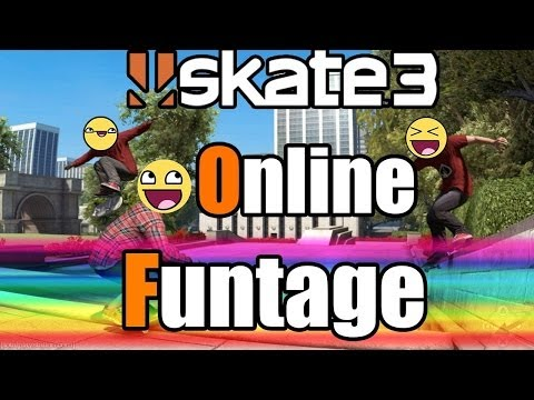 Skate 3: Funny Moments Montage (Funtage Compilation)