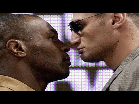 INCREDIBLE! ESCAPE FROM THE RING! TYSON vs GOLOTA.