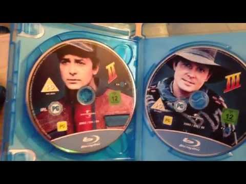 Back To The Future UK Blu-Ray Unboxing