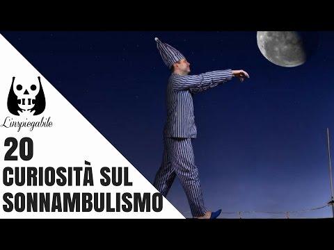 20 strane curiosità sul sonnambulismo