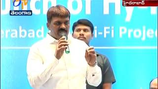 Hy-Fi Free 1000 Wi-Fi Hot Spots Services  Launched by GHMC Mayor  Hyderabad...