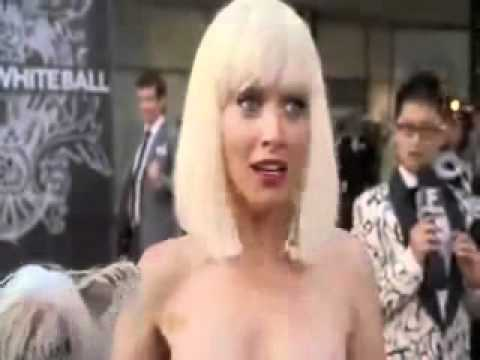 ENF - Amanda Stripped Nude In Public (Ugly Betty)