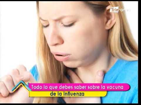 Todo lo que debes saber sobre la vacuna de la influenza