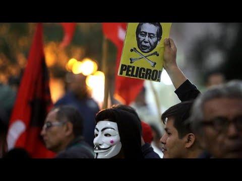 Περού: Διαδήλωση κατά της απονομής χάρης στον Φουχιμόρι