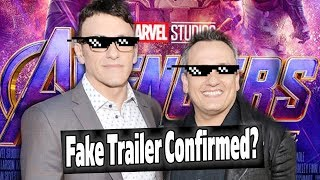 RUSSO BROTHERS TALK FAKE AVENGERS ENDGAME TRAILERS!!!