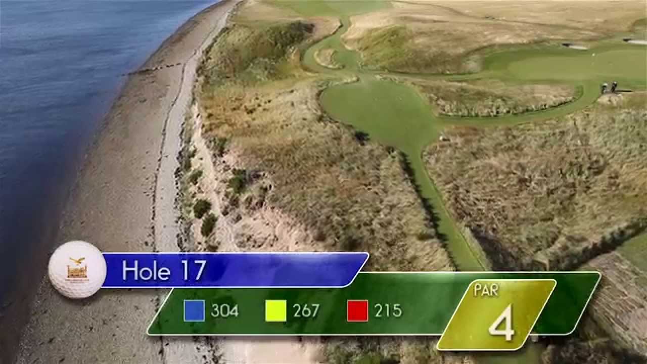 Carnegie Links Hole 17 - YouTube video