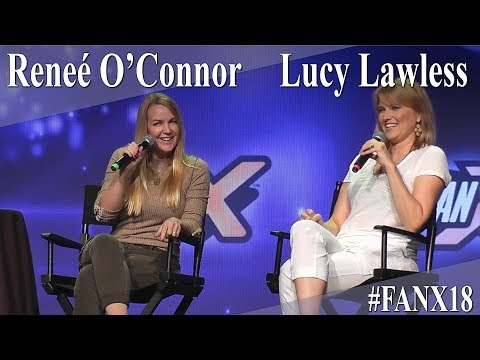 Lucy Lawless And Reneé O'Connor - Xena Panel/Q&A - FanX 2018