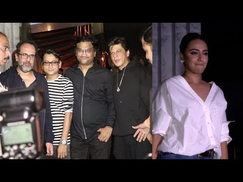 SHAHRUKH KHAN BIRTHDAY BASH WITH MANY CELEBS AT ARTH