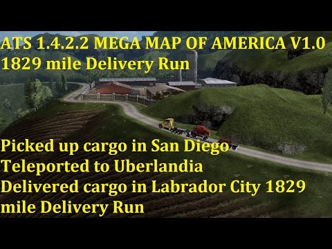 MEGA MAP OF AMERICA v1.0 ATS 1.4.x