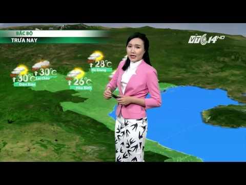 (VTC14)_Thời tiết 6h ngày 14.04.2017