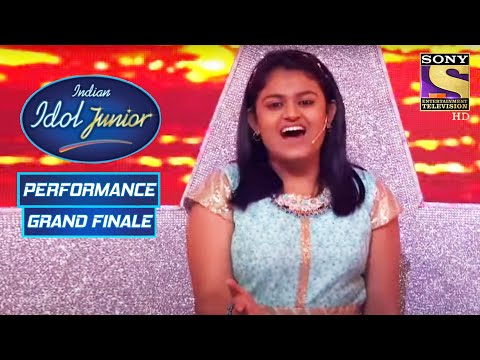 The Top Three Give One Final Performance   Indian Idol Junior 2   Grand Finale