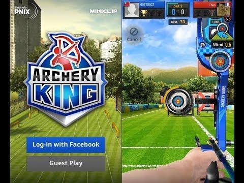 《弓箭之王 Archery King》手機遊戲玩法與攻略教學!