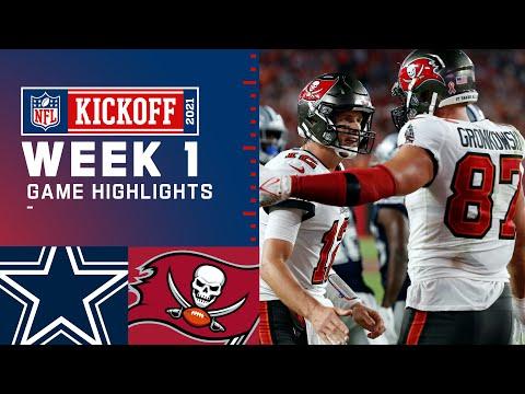 Dallas Cowboys vs. Tampa Bay Buccaneers | Week 1 2021 Game Highlights