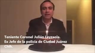 Duarte es un delincuente, Serrano su lugarteniente; Leyzaola