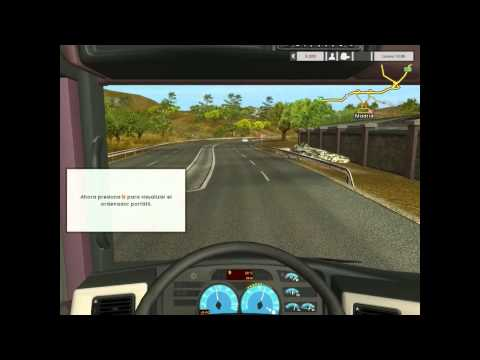 Video 1 de Euro Truck Simulator: Gameplay en español