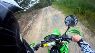 6. Go Pro test on my KLX 250