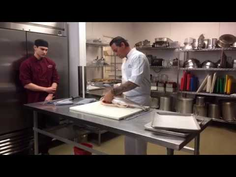 Salmon Fabrication With Chef Curtis Duffy | Escoffier Schools