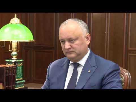 Igor Dodon a avut o întrevedere cu Petru Pușcari
