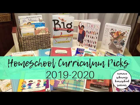 Our HOMESCHOOL CURRICULUM CHOICES For K & 2nd Grade || 2019-2020