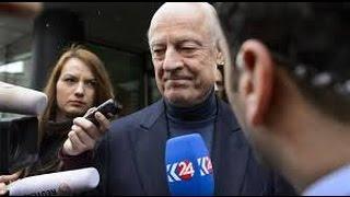 بعد لقائه وفد المعارضة ، ديمستورا يعلن بدء محادثات جنيف