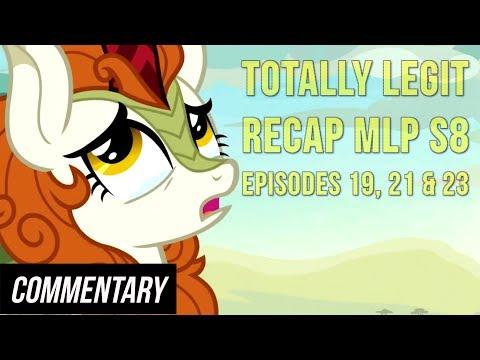[Blind Reaction] Totally Legit Recap S8, Episodes 19, 21 & 23