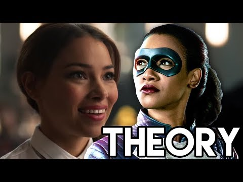 The Flash 4x16 - Iris Speedster Suit & Mystery Girl Connection