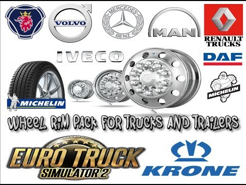 Wheel Rim Pack for trucks and Trailers 1.34