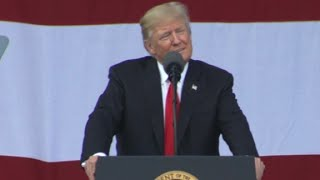 """President Trump, in a campaign-style speech at the 2017 National Scout Jamboree, says if Health and Human Services Secretary Tom Price doesn't deliver votes for the GOP's health care bill, he may have to tell Price he's """"fired."""""""