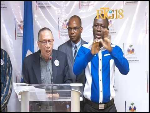 Haiti / Ministère de la Culture et de la Communication / Lundi de la Presse