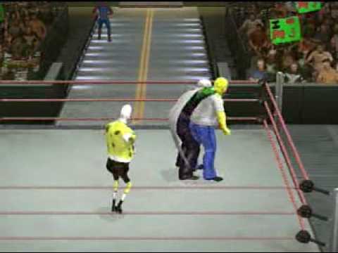 SVR2010 Fictional CAW Royal Rumble Part 1