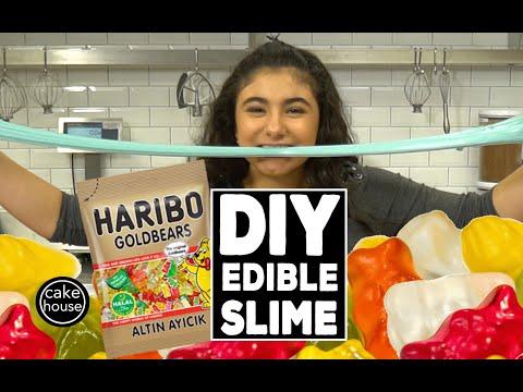How to make DIY EDIBLE SLIME with Sofia Valastro (видео)