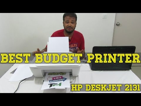 (Check Description) : Best Budget All In One Printer Review 2017 - India   HP DeskJet 2131