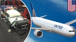 Video Turbulence : 12 blessés sur un vol d'United Airlines MP3, 3GP, MP4, WEBM, AVI, FLV Juni 2017