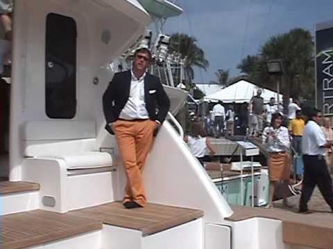 SOCIAL AFFAIRS: Bertram Yachts at Fort Lauderdale Boat Show