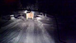 6. Timmer körning i Parakka med en Polaris Widetrack IQ samt en Lynx ST 600