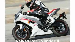 8. 2009 Yamaha YZF R6 - Details and Specification