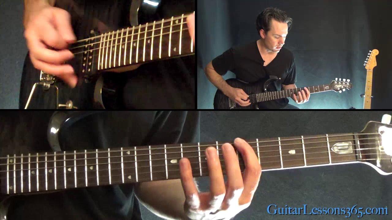 Metallica – Moth Into Flame Guitar Lesson (Solo)